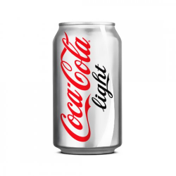 COCA - COCA COLA KUTU LİGHT 330 ML 24lü